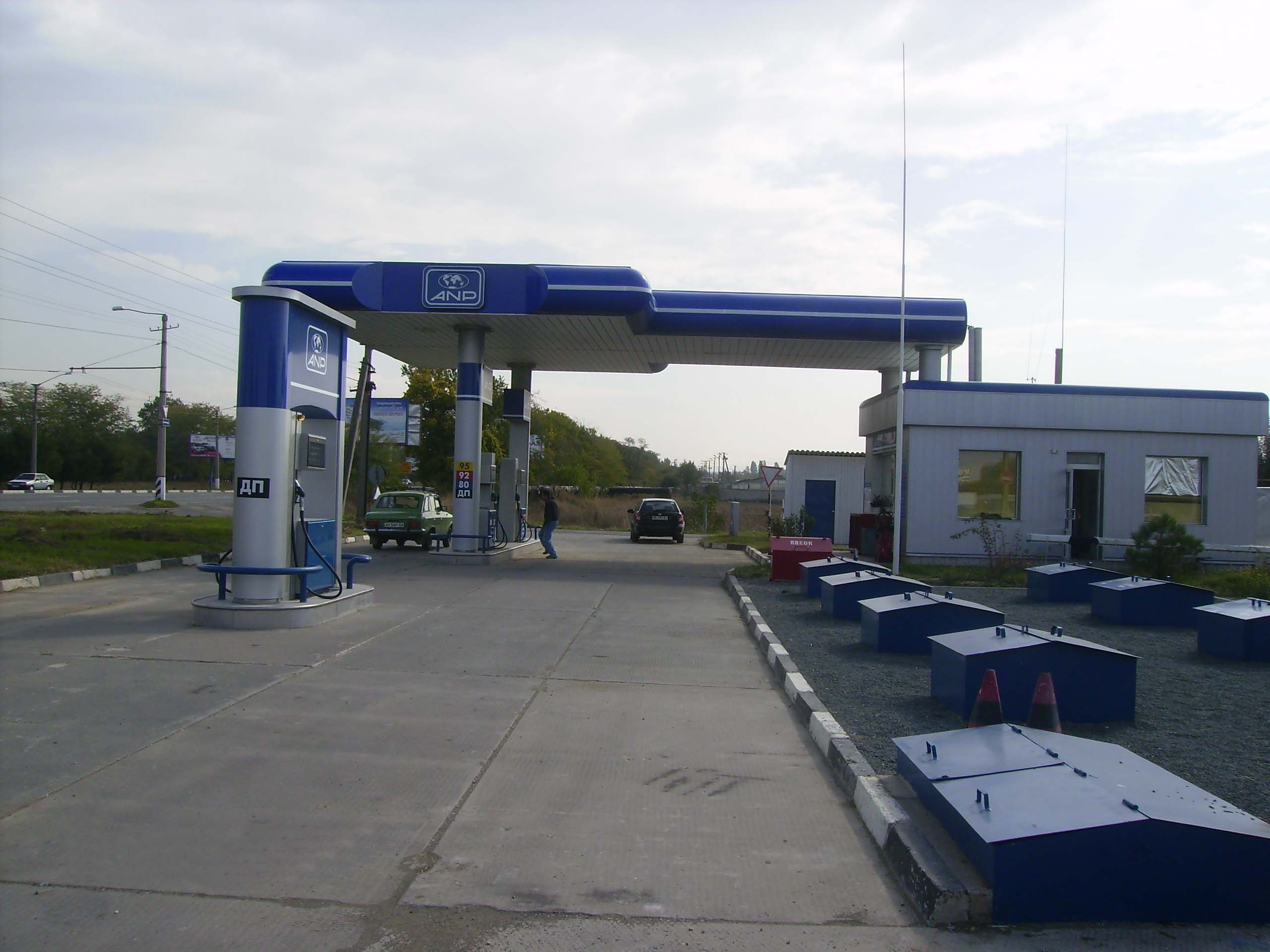 6 Сonstruction of the filling stations